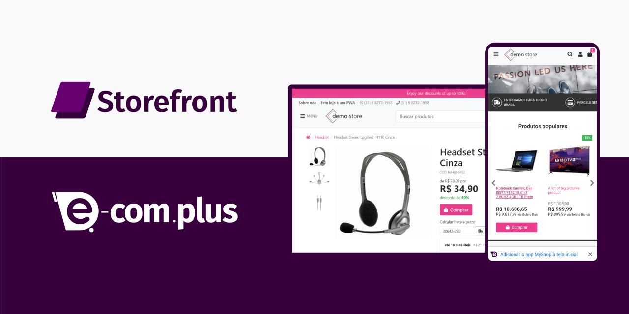 E-Com Plus Storefront banner